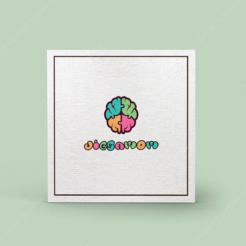 Jigsaw Puzzle company logo design