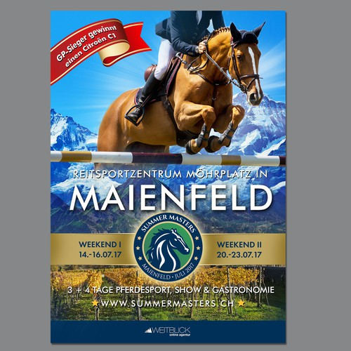 Summer Masters - Equestrian sports - Showjumping