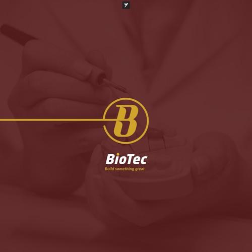 B monogram for dental laboratory