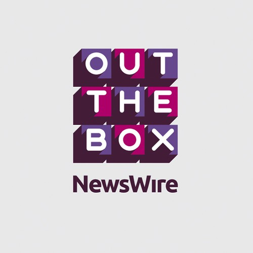 Contemporary logo for an entertainment news company
