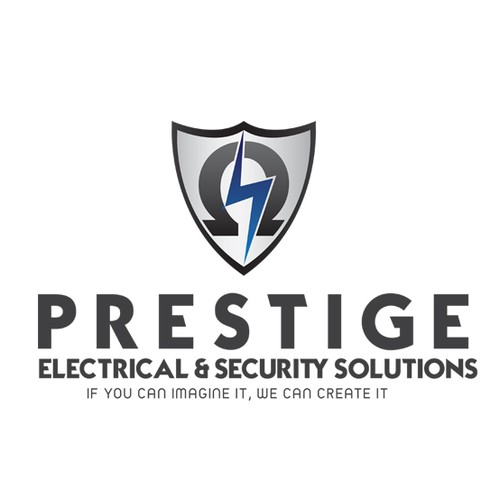 Logo for an Australian Electrical and Security Company.