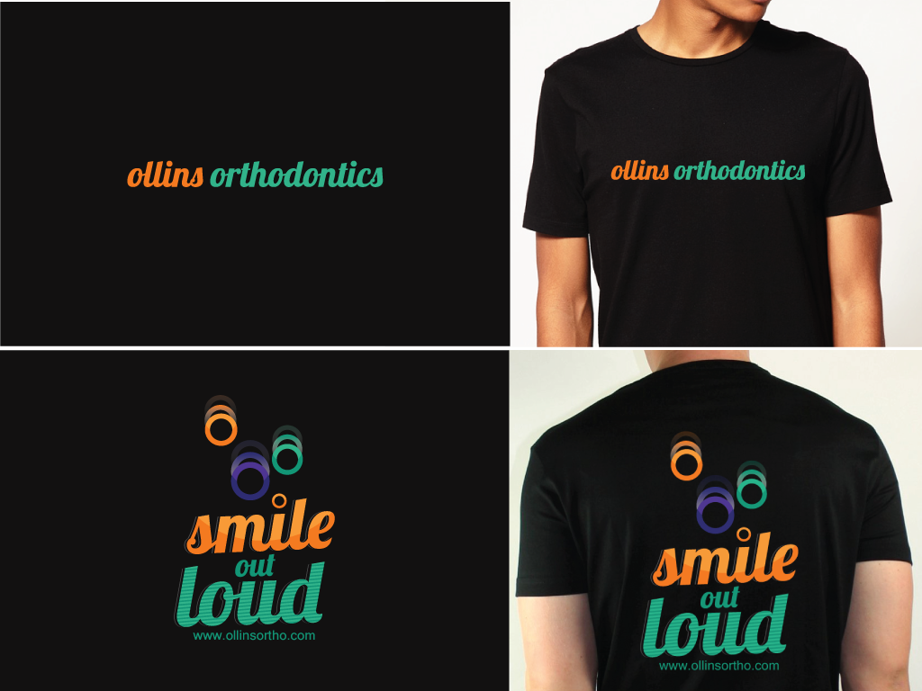 Orthodontists need a t shirt design that patients will actually wear