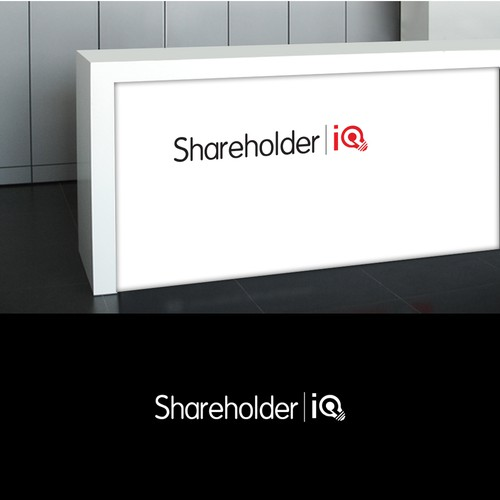 Create a professional but modern logo for Shareholder IQ