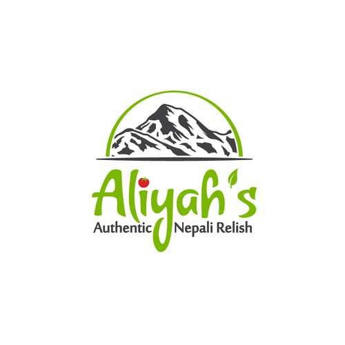 Aliyah's logo design.