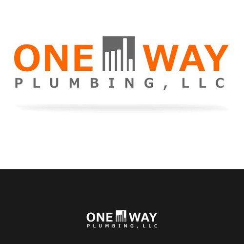 Create the next logo for One Way Plumbing, LLC