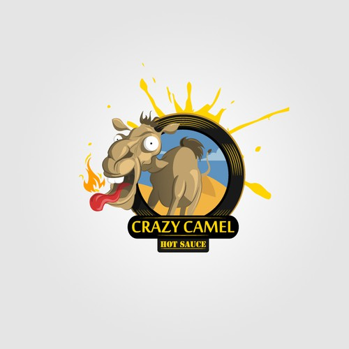 Crazy Camel Hot Sauce needs a new logo