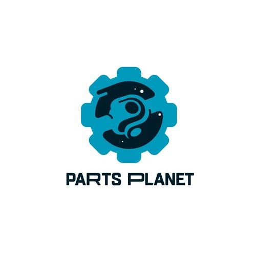 Unique logo for auto parts retailer
