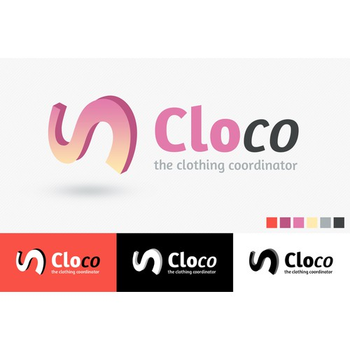 Logo for cloco - the clothing coordinator