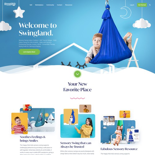 Landing Page for HappyKido.nl