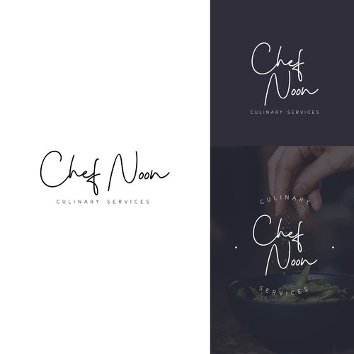Logo concept for culinary services