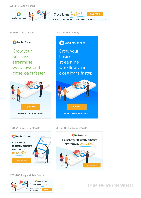 LendingConnect Marketing Website
