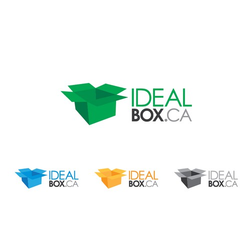 IdealBox logo concept