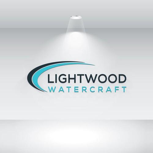 lightwood logo design