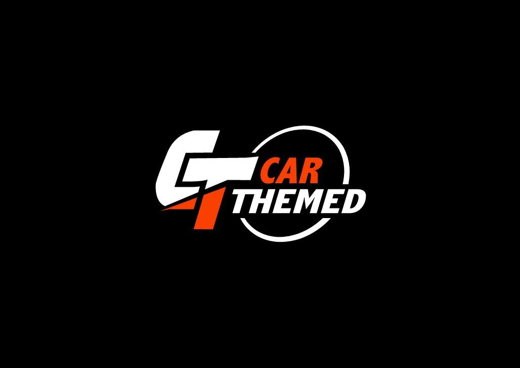 Car themed logo adjustment