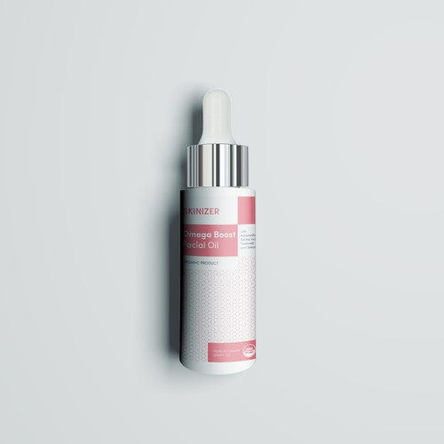 Clean label for Organic Skincare product
