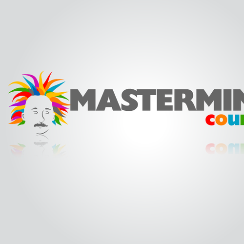 Fun Creative Web 2.0 Logo for a Mastermind Group