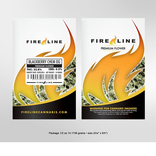 Fireline Packaging Design