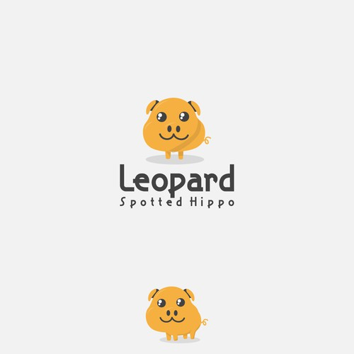LEOPARD SPOTTED HIPPO