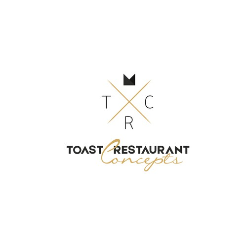 Logo concept for Toast Restaurant Concepts