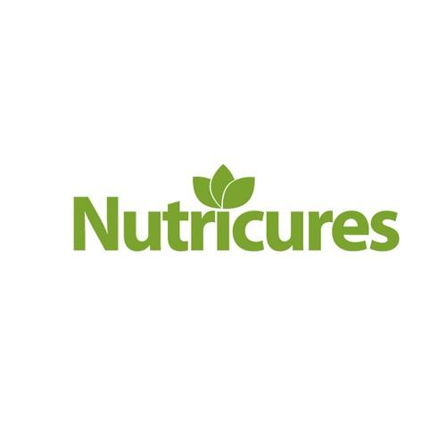 logo natural vitamin health green