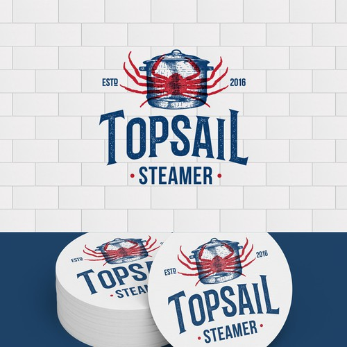 Logo Topsail Steamer