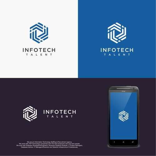 Create an awesome logo for a TOP Technology Recruitment Agency!