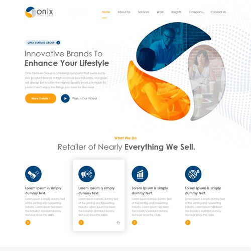 Onix group website