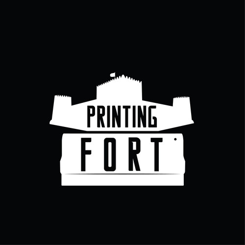 Logo Concept for Printing Fort