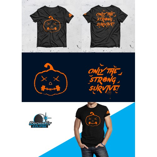 Tshirt Design for Gym Halloween Party