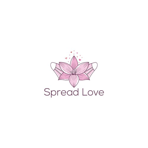 Design this logo and spread you love