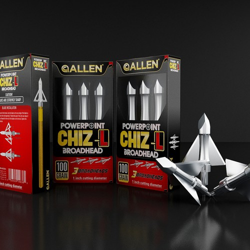Create the next product packaging for The Allen Company
