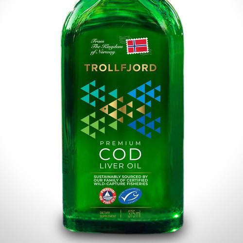 Label for Cod Liver Oil