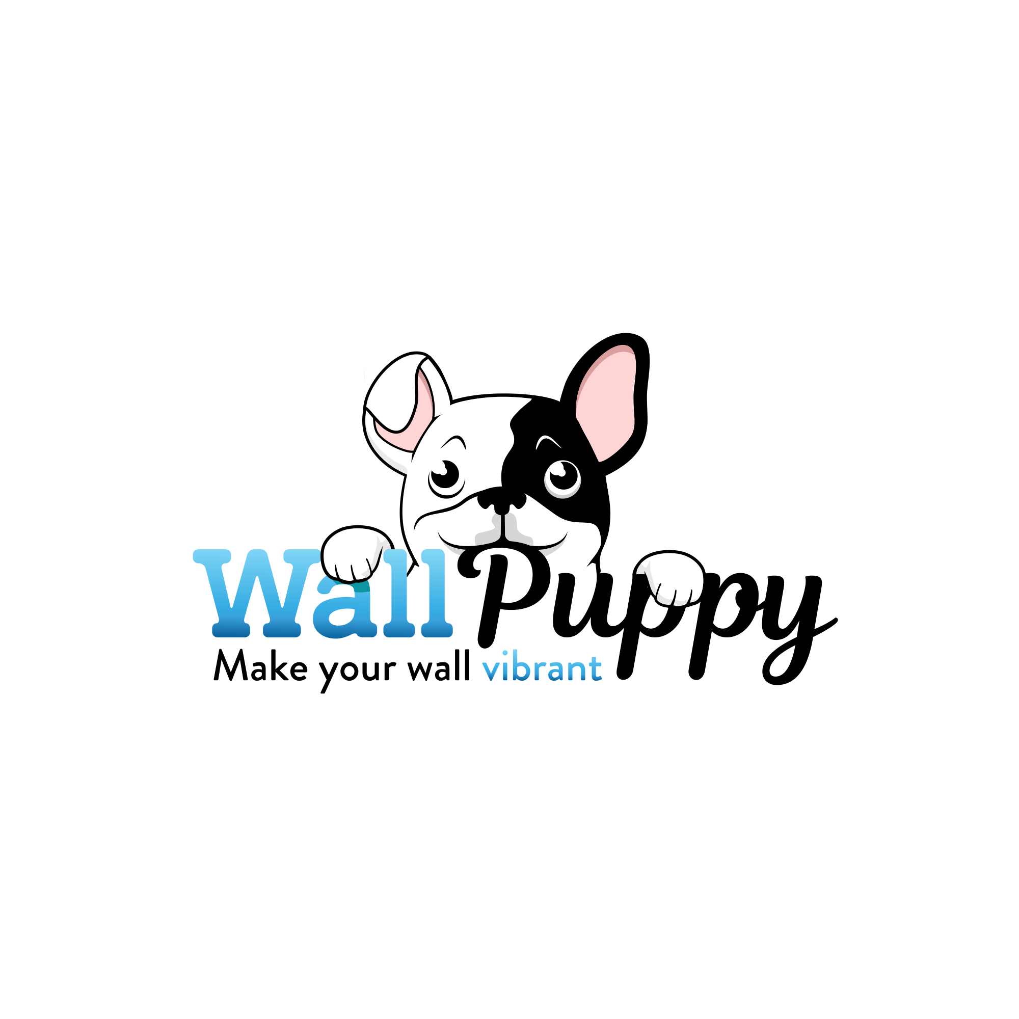 Logo for WallPuppy Online Store