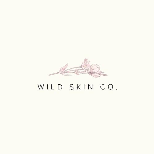 Logo concept for a cosmetics brand