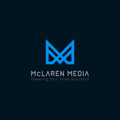 Logo for Company Providing Website and Media Design for Small Businesses