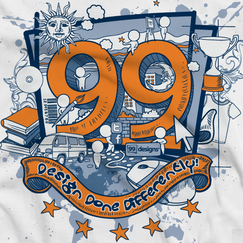 Create the Official 99designs Community T-shirt!