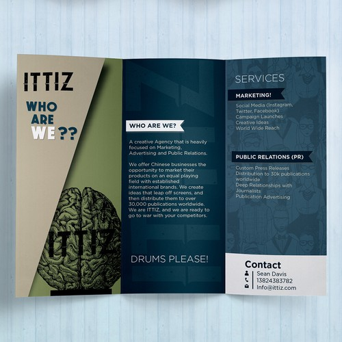 ITTIZ Flier and brochure design