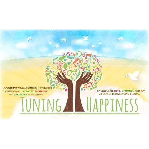 Create a sick banner for the Tuning Happiness