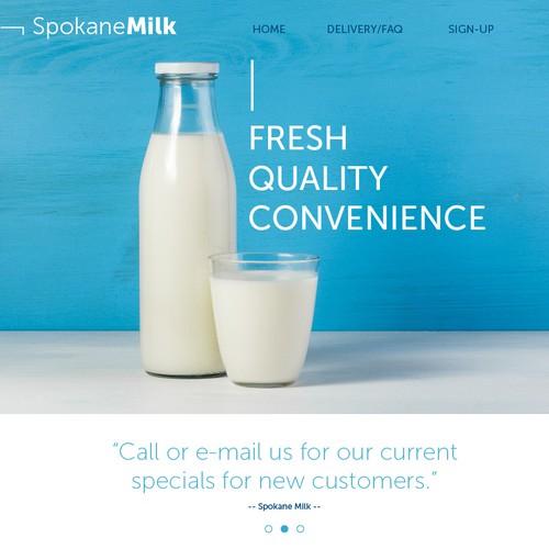 Web Page Spokane Milk