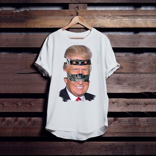 Trump x Terminator t-shirt