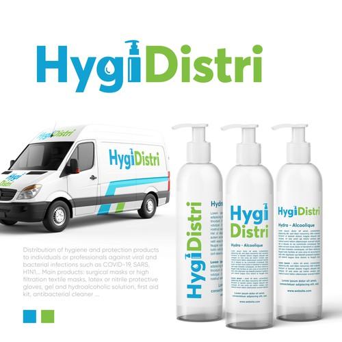 Sanitizer Logo Design