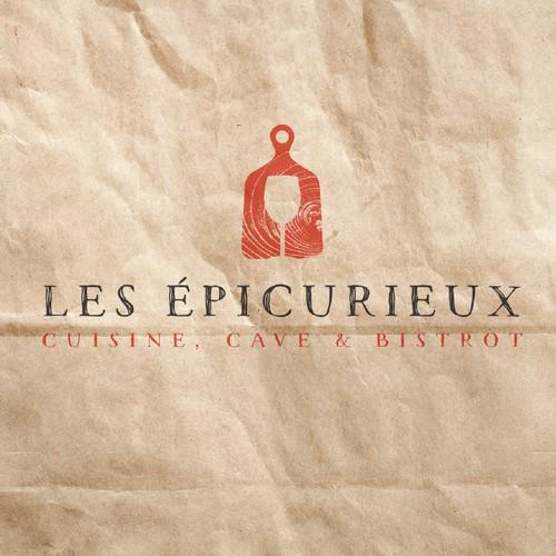 Branding Concept for Les Épicurieux.