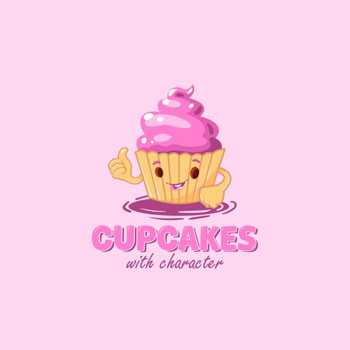 Logo for Cupcakes with Character