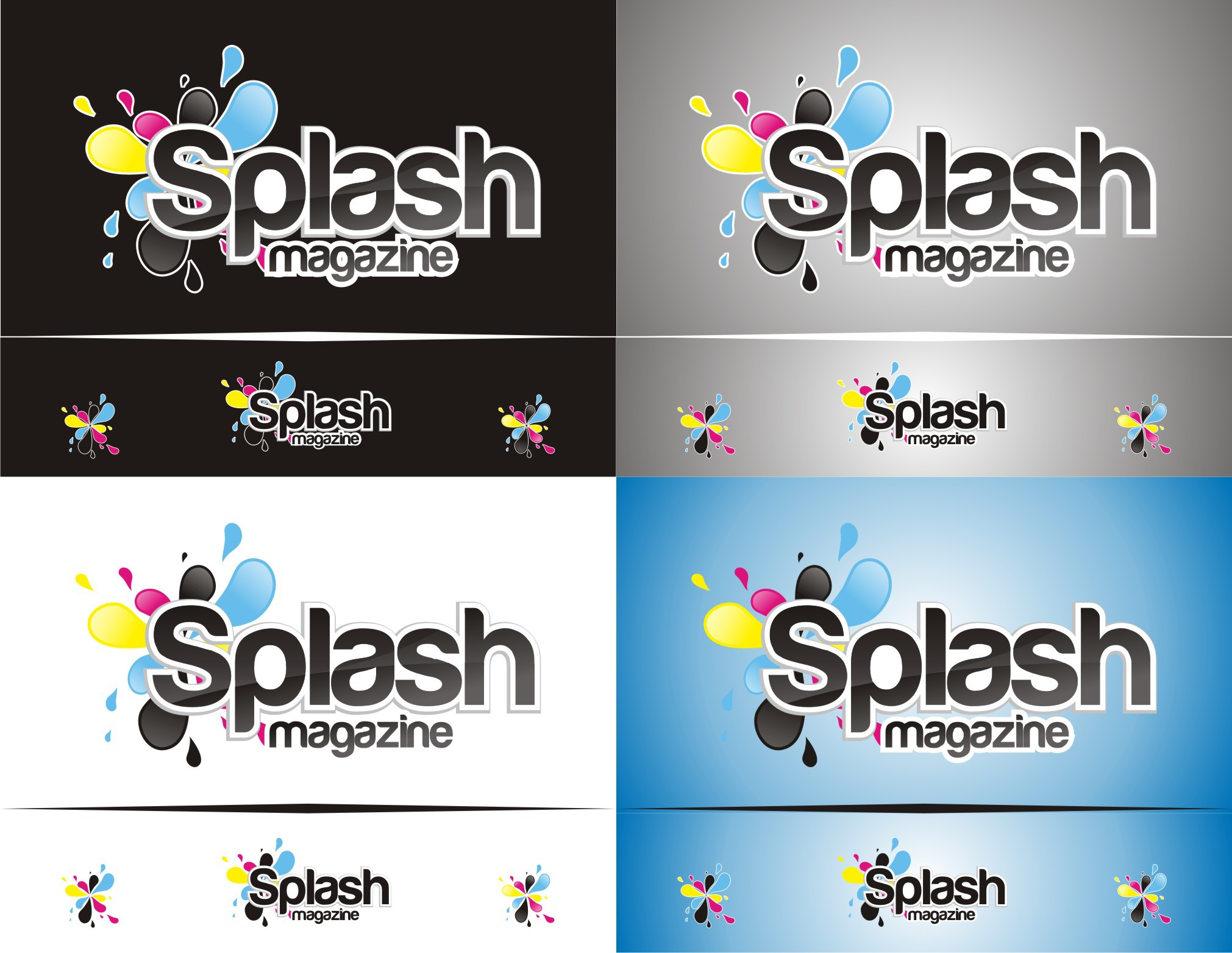 Create the next logo for Splashmagazine