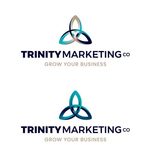 Trinity Marketing Co_logo concept