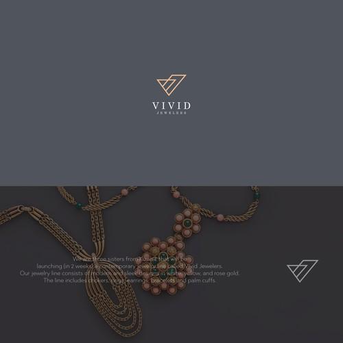 elegant concept for vivid jewelers
