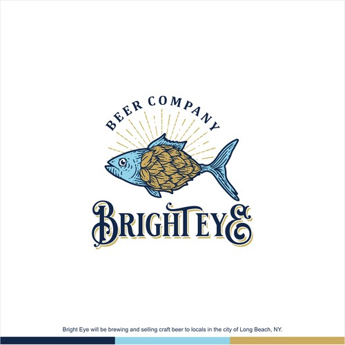 Logo Concept for Bright Eye Beer Co.