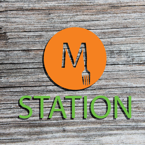 Logo for Station M restaurant