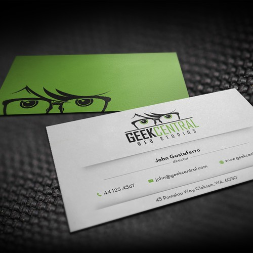 We've Got The Logo - Now Design Some Uber-Cool Business Cards!