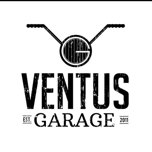 Retro Logo for Ventus Garage